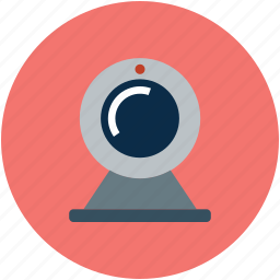 cam, camera, webcam, webcamera icon