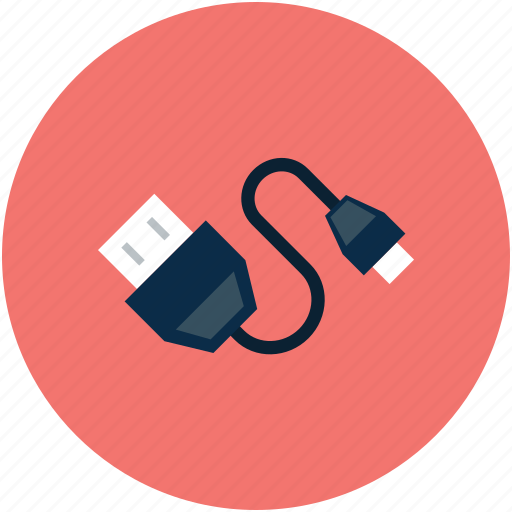 Usb connector, usb plug, connector, usb plug connector icon