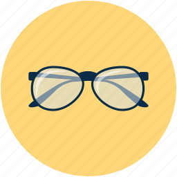 eyeglasses, glasses, spectacles, view icon