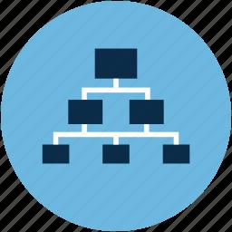 elements hierarchy, hierarchy, hierarchy graphics, site map icon