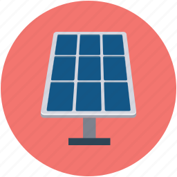 solar energy, solar energy panel, solarpanel, technology icon