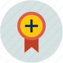 achievement, badge, best, rank badge icon