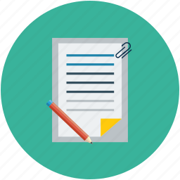 contract, document, signing a contract, signing a document icon