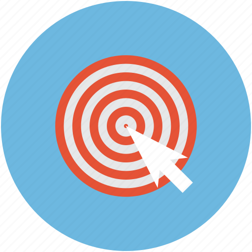 dartboard, optimization, pay per click, target icon