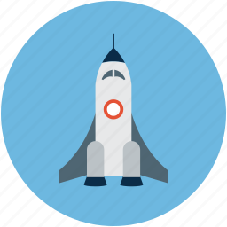 launch, spacecraft, spaceship, spaceshuttle icon