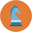 chess figure, chess piece, horse chess, horse chess piece icon
