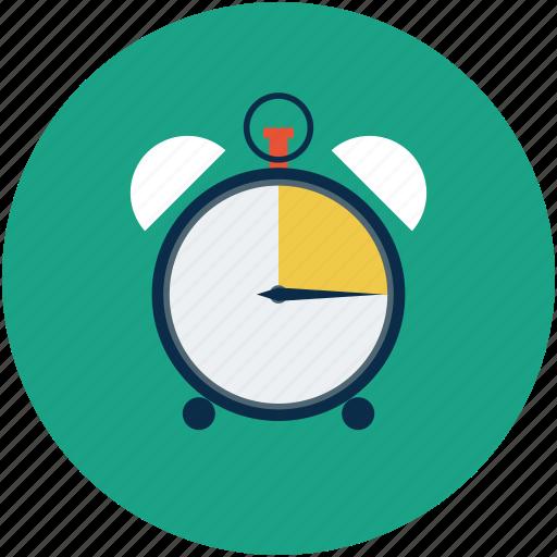 alarm, alarm clock, timepiece, timer icon