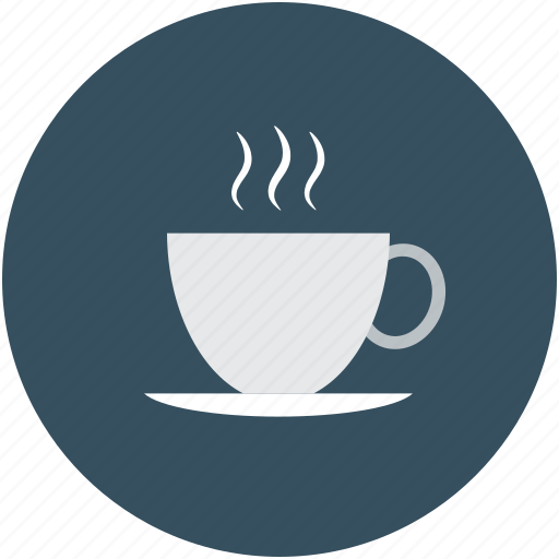 cup of tea, cup with saucer, hot tea, tea icon