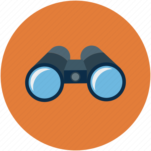 binocular, find, search, view icon