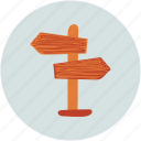 arrows, directions, location, opposite directions icon