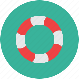 lifebelt, lifesaver, protection, support icon