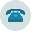 old retro telecommunication, retro, telephone, vintage icon