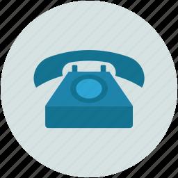 old retro telecommunication, retro, telephone, vintage icon