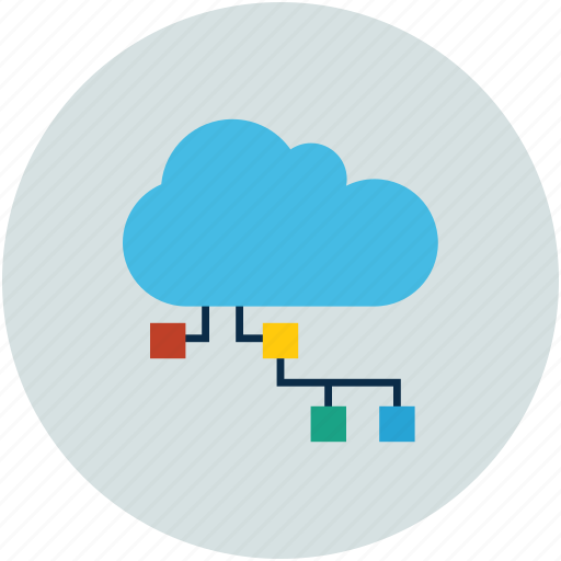 cloud computing, cloud network, internet, network icon