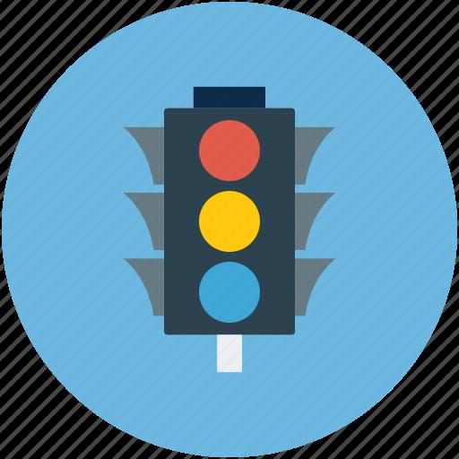 Traffic signal, signal, traffic, traffic lights icon - Download on Iconfinder