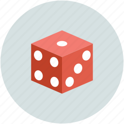 casino, dice, gambling, game icon