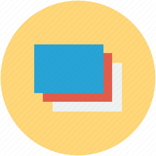 blank papers, documents, papers, papers flow icon