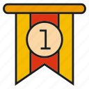 badge, emblem, label, rank, rating, status icon