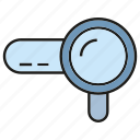 magnifier glass, optimiztion, search engine, seo, view icon