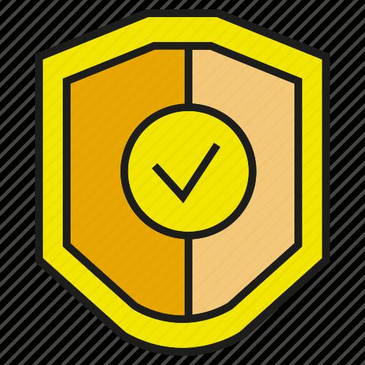 assure, guarantee, protect, secure, shield icon