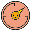 gauge, measure, scale, speedometer icon