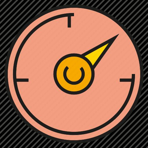 gauge, measure, scale, speedometer icon
