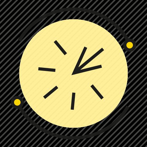 arrow, click, pointer icon