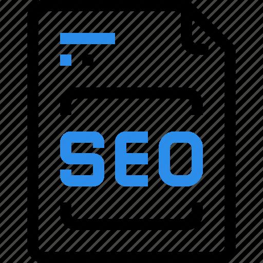document, file, marketing, paper, report, seo icon