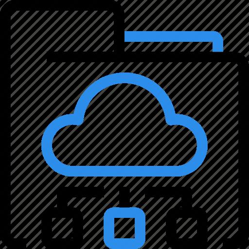 cloud, database, folder, marketing, network, online, seo icon