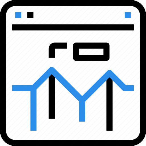 analysis, browser, graph, marketing, report, seo icon