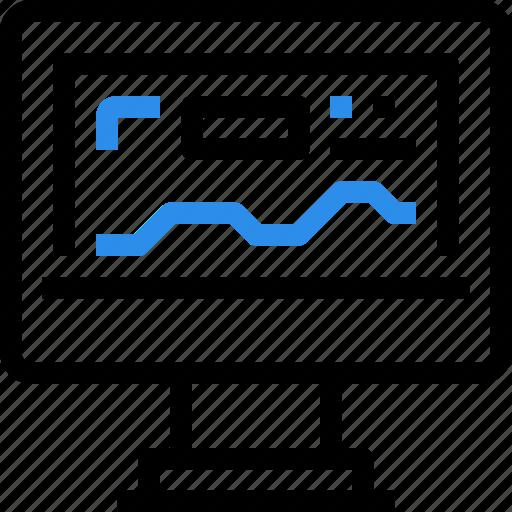 analysis, computer, data, database, marketing, report, seo icon