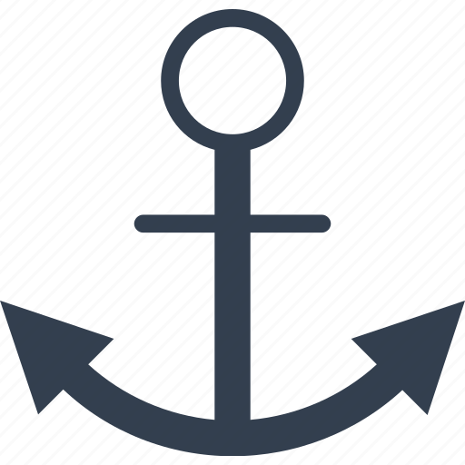 anchor, anchor text, brake, marketing, nautical, optimization, seo, strategy icon