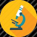 market, microscope, research, seo icon