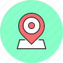 address, location, map, navigation icon