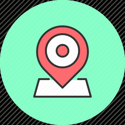 address, location, map, navigation icon