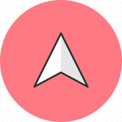 arrow, direction, navigation, pointer icon