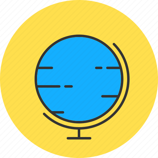 geography, globe, map, planet icon