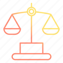 balance, justice, law, lawyer icon