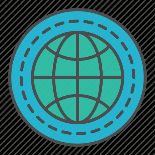 global, rank, seo, target icon