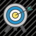 optimum, seo, target, targeting icon