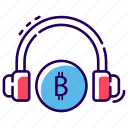 bitcoin customer services, bitcoin helpline, bitcoin services representative, bitcoin support, financial call centre icon