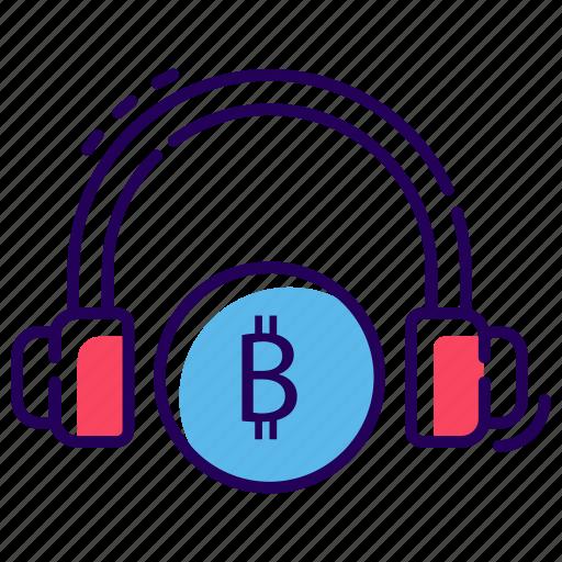 bitcoin customer services, bitcoin helpline, bitcoin services representative, bitcoin support, financial call centre icon