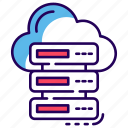 cloud computing, cloud connection, cloud data storage, cloud hosting, cloud network, cloud storage icon