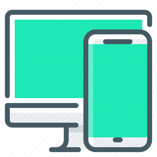 adaptive, design, responsive, responsive design icon