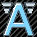 font, letter, logo icon