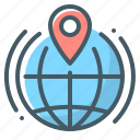 globe, local, local seo, seo icon