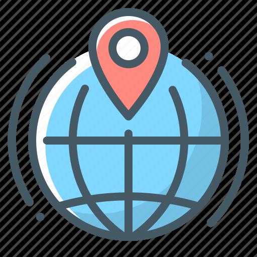 globe, local, local seo, seo icon