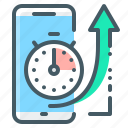 mobile, time, seo, response, ios, optimization, stopwatch