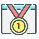medal, ranking, website, website ranking icon