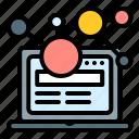 marketing, optimization, promotion, seo, technology, web icon